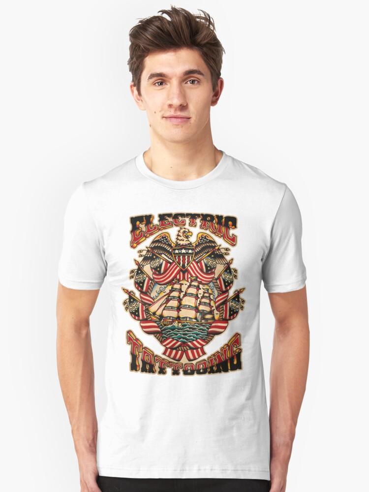 Spitshading 025 Unisex T-Shirt Front