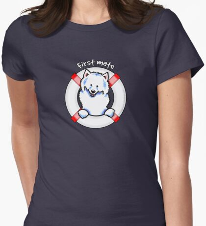 Samoyed :: First Mate T-Shirt