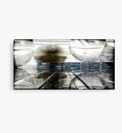 Momentum Grunged Canvas Print