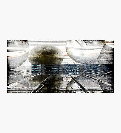Momentum Grunged Photographic Print