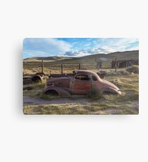 1937 Chevy in Bodie Metal Print