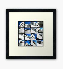 Guggenheim Collage Framed Print