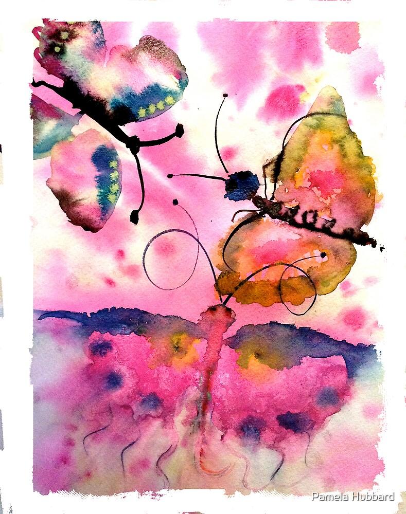 Dancing Butterflies by Pamela Hubbard