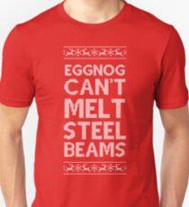 Eggnog Can't Melt Steel Beams T-Shirt