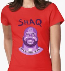 Shaquille O'Neal Lakers Womens Fitted T-Shirt