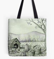 Fall Harvest Time Down on the Farm Tote Bag