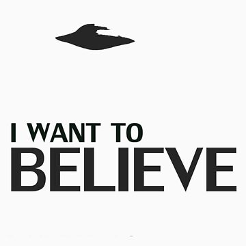 Want to Believe by Colester