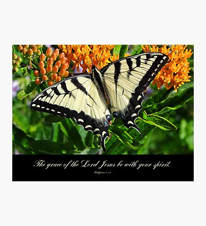 Grace of the Lord-inspirational Photographic Print