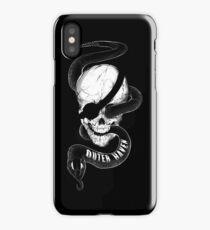 Outer Haven (text) iPhone Case