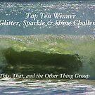 Top Ten Banner - Glitter, Sparkle & Shine by quiltmaker