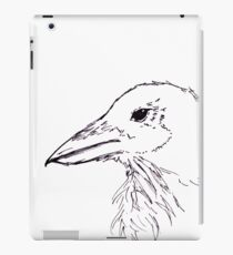 Simplistic Raven  iPad Case/Skin
