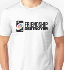 +4 Friendship Destroyer (Uno Card Game) Unisex T-Shirt