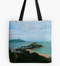 Looking Down on Shek O Village Tote Bag