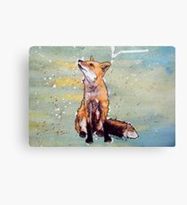 Little Red Fox  Canvas Print