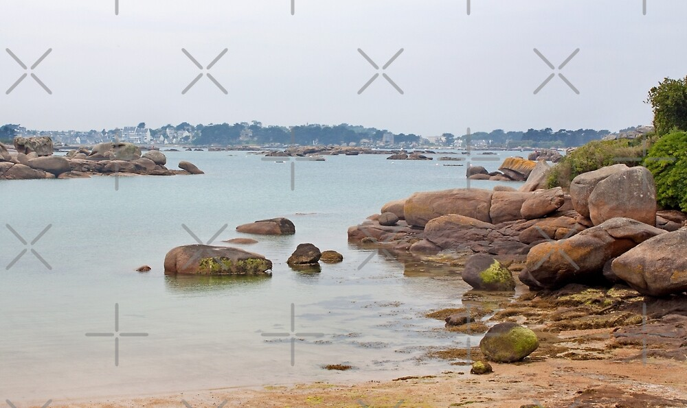 View from Perros Guirec, Brittany by Buckwhite