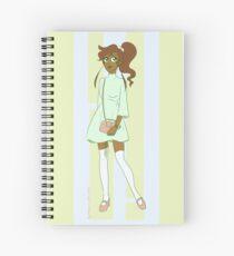 Fashionista Mako-chan Spiral Notebook