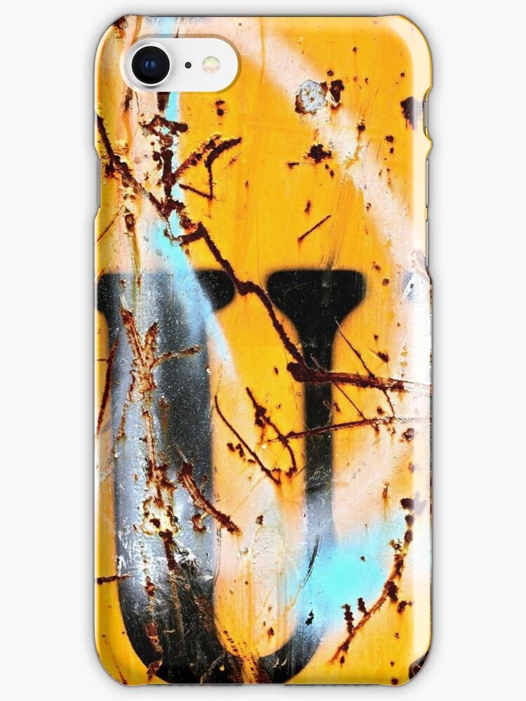 Sprayed Out U - iPhone Skin by Vikki-Rae Burns