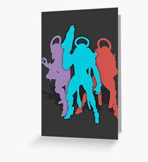 Psion Flayers Greeting Card