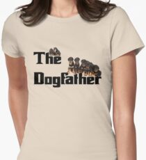 The Dog Father - Rottweiler Litter Women's Fitted T-Shirt