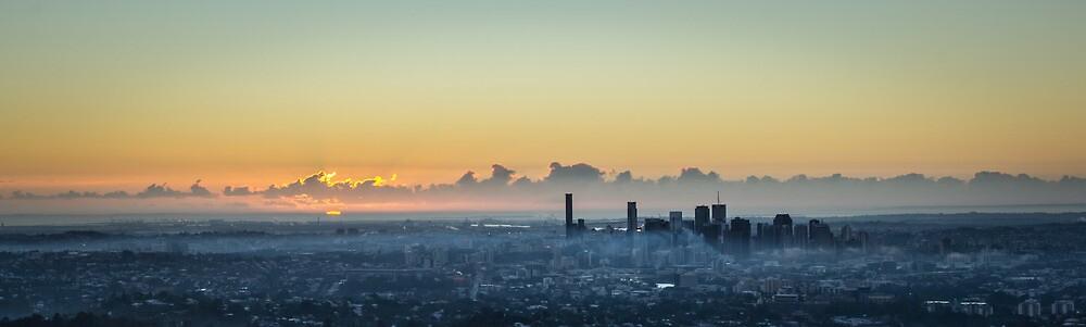 City Sunrise by ryanashepherd