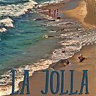 La Jolla Beach by Degroom