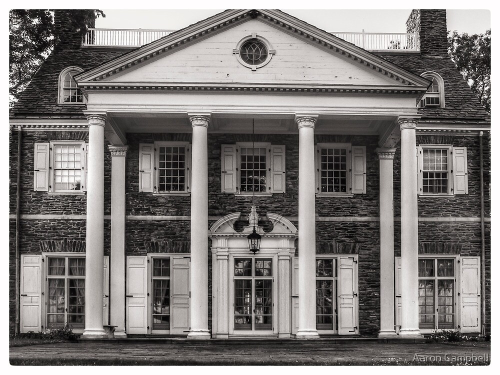 Hayfield House (Front View) June 2012 by Aaron Campbell