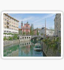 Ljubljana Slovenia Sticker