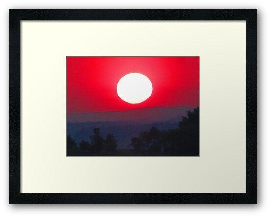 Farewell Blazing Sun, Illumine Our 'Morrow by M-EK