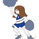 Birthday Cheerleader by redqueenself