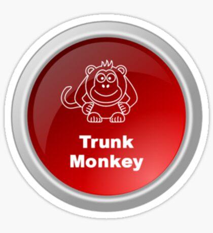 Trunk Monkey Sticker