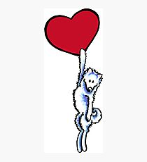 Samoyed on my Heart Photographic Print