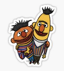 Bert And Ernie Sticker