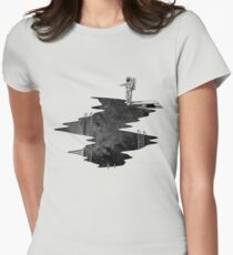 Space Diving Women's Fitted T-Shirt