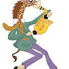 Giraffe Jazz by redqueenself