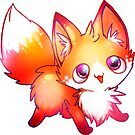 kawaii fox by michelledraws
