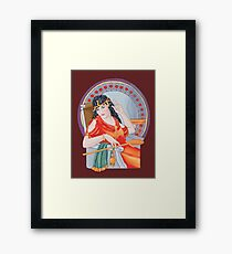 Tarot Heirophant Framed Print