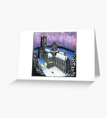 Castleford to Ely (Tom's Midnight Garden) Greeting Card