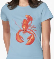 Lobster Rock Womens Fitted T-Shirt