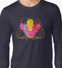 Retro-Vector Abstracts Long Sleeve T-Shirt