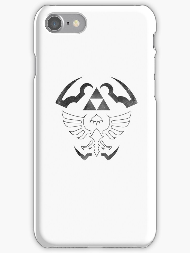 Hylian Shield - Legend of Zelda [white] by TheInternet
