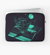 Crossing the Rough Sea of Knowledge Laptop Sleeve