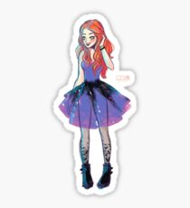 Batgirl Fashion Sticker