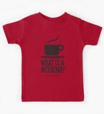 Weekend in Downton Abbey Kids Tee