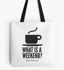 Weekend in Downton Abbey Tote Bag