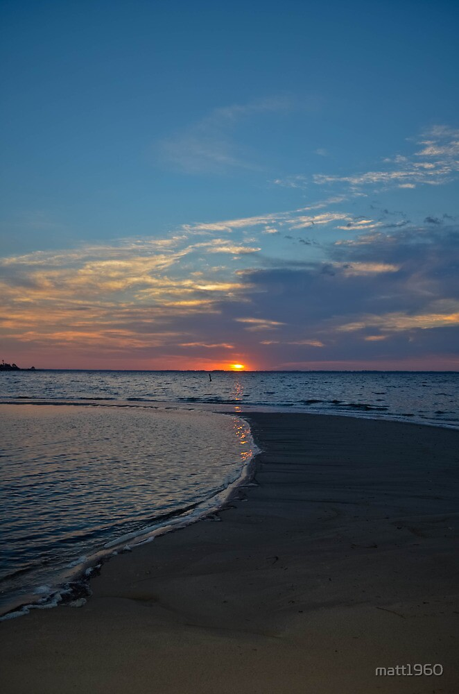 Gulfcoast sunrise by matt1960