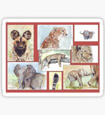Lodge décor – South African wildlife collection Sticker