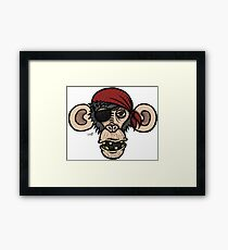Primateyyyy Framed Print