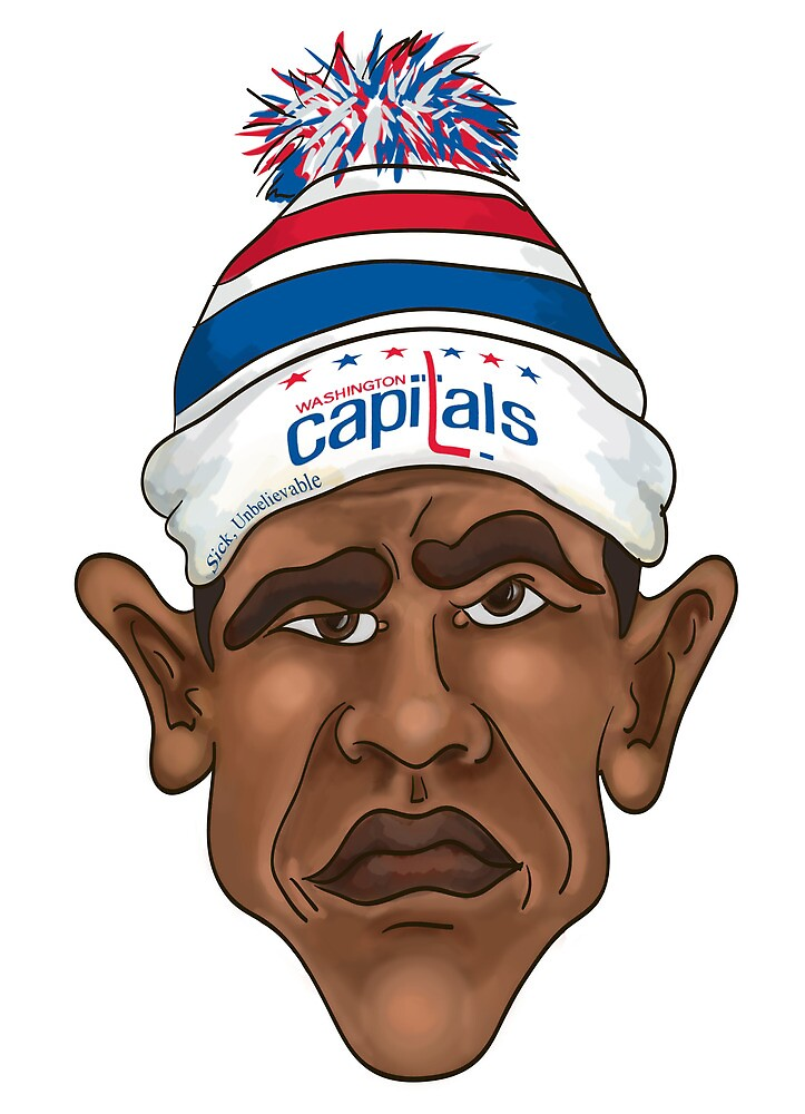 President is a Caps Fan by bfrench87