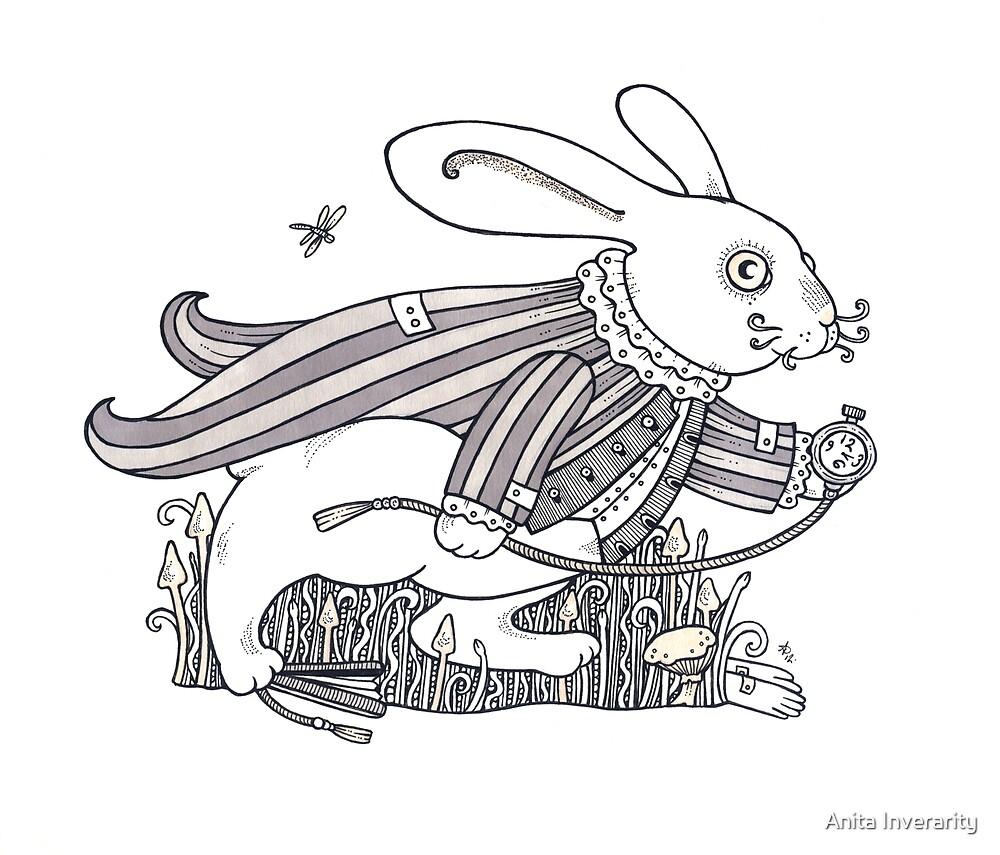The White Rabbit Rush  by Anita Inverarity