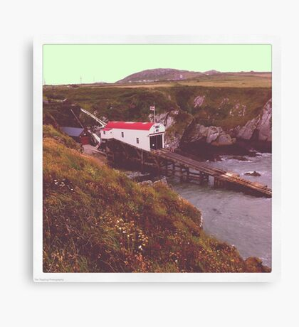 St Davids Lifeboat Station Canvas Print